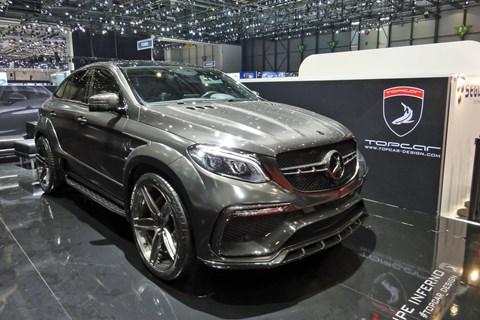 Topcar Inferno at the 2017 Geneva motor show