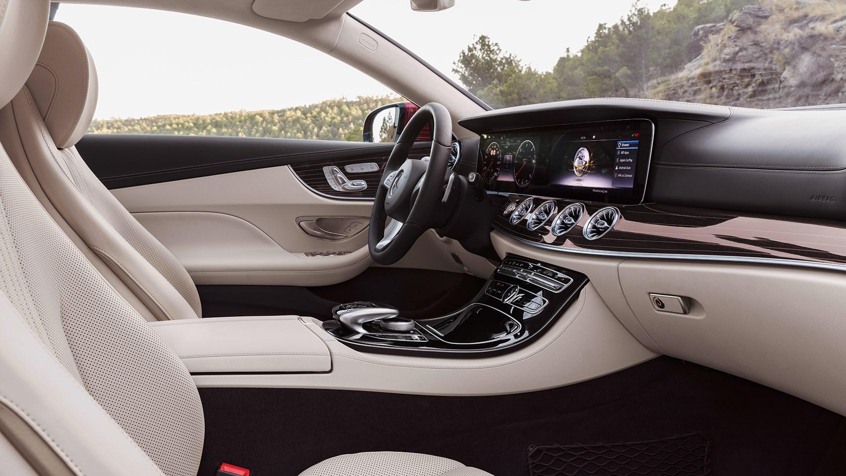 Mercedes E Cl Coupe