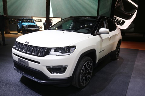 Jeep Compass at the 2017 Geneva motor show