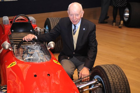 Surtees raced for Ferrari in F1