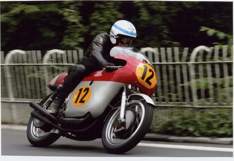 John Surtees: a four-time motorcycling world champion