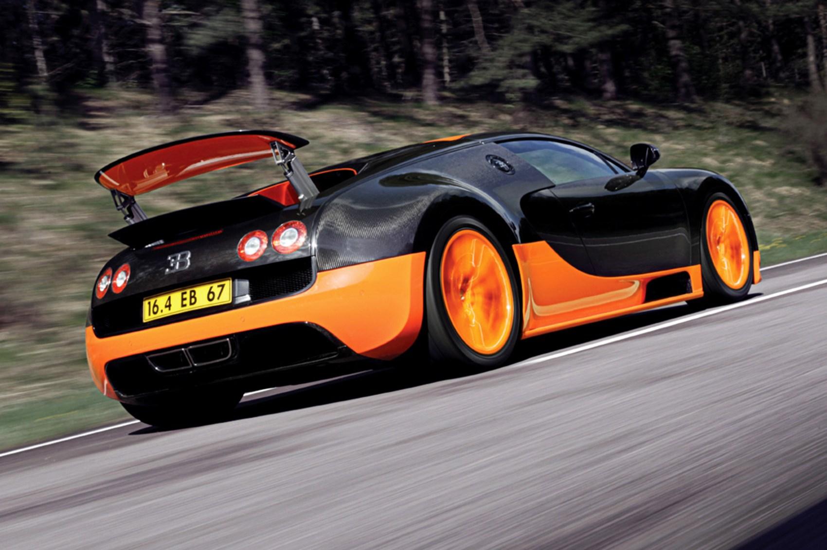 Fastest: Bugatti Veyron Super Sport