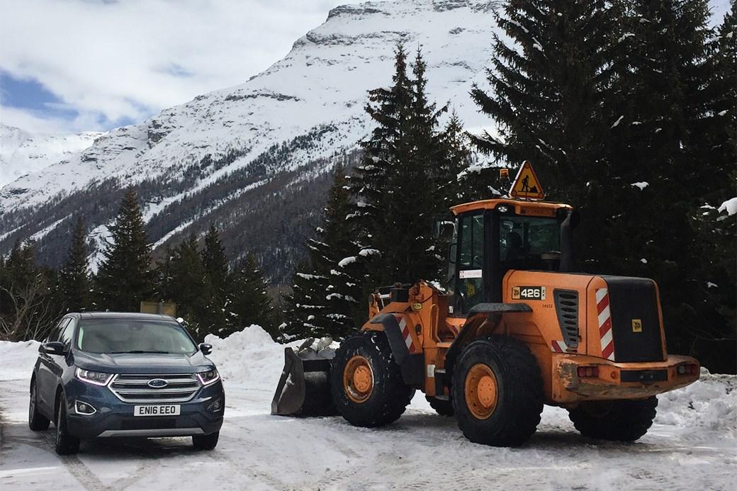 Ford Edge Ski Trip Alps