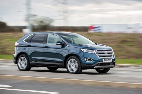 Ford Edge panning