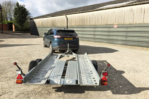 Ford Edge trailer towing
