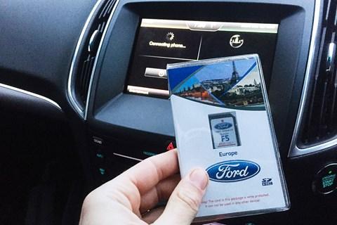 Ford Edge navigation SD card