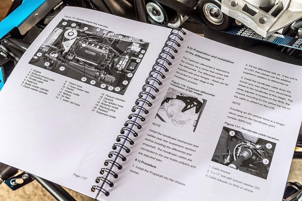 45d6b8779e How to build a Caterham Academy race car  the instructions