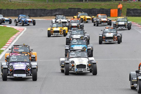 Caterham Academy racing field