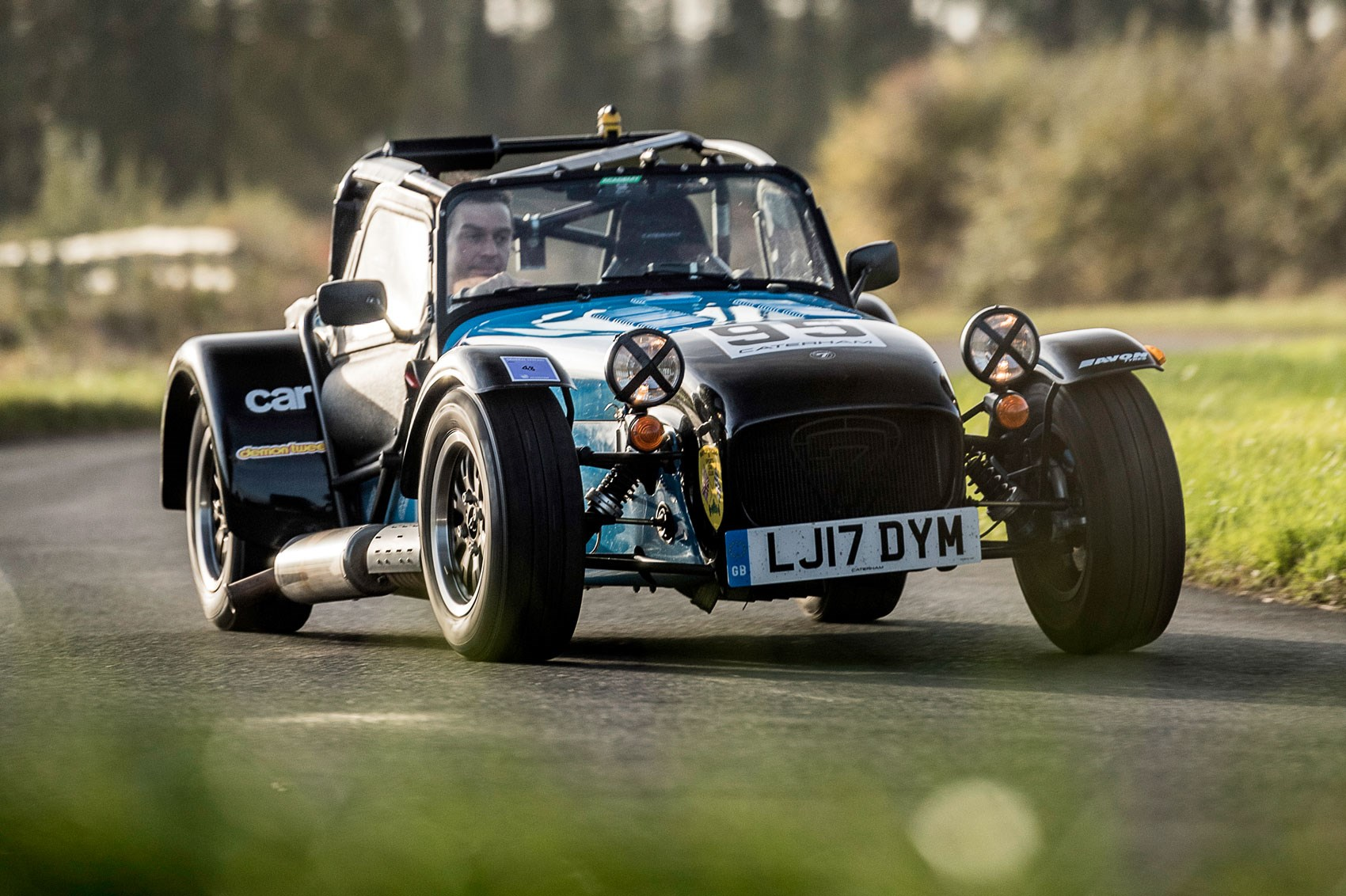 Caterham Seven Academy Race Car Long Term Test Review Car Magazine