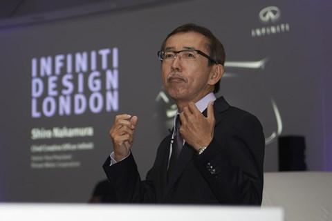 New design team — Nissan and Infiniti