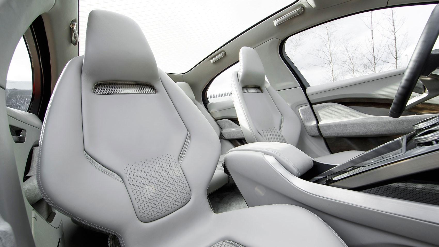 A very glassy, airy interior