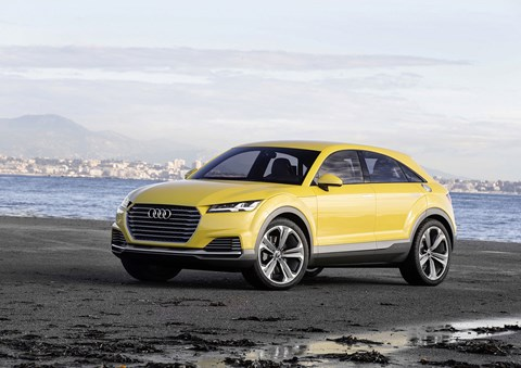 Audi TT Offload concept points to new Q4 due in 2019