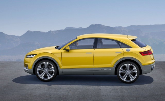 The Audi Tt Offroad Concept Revealed In 2017