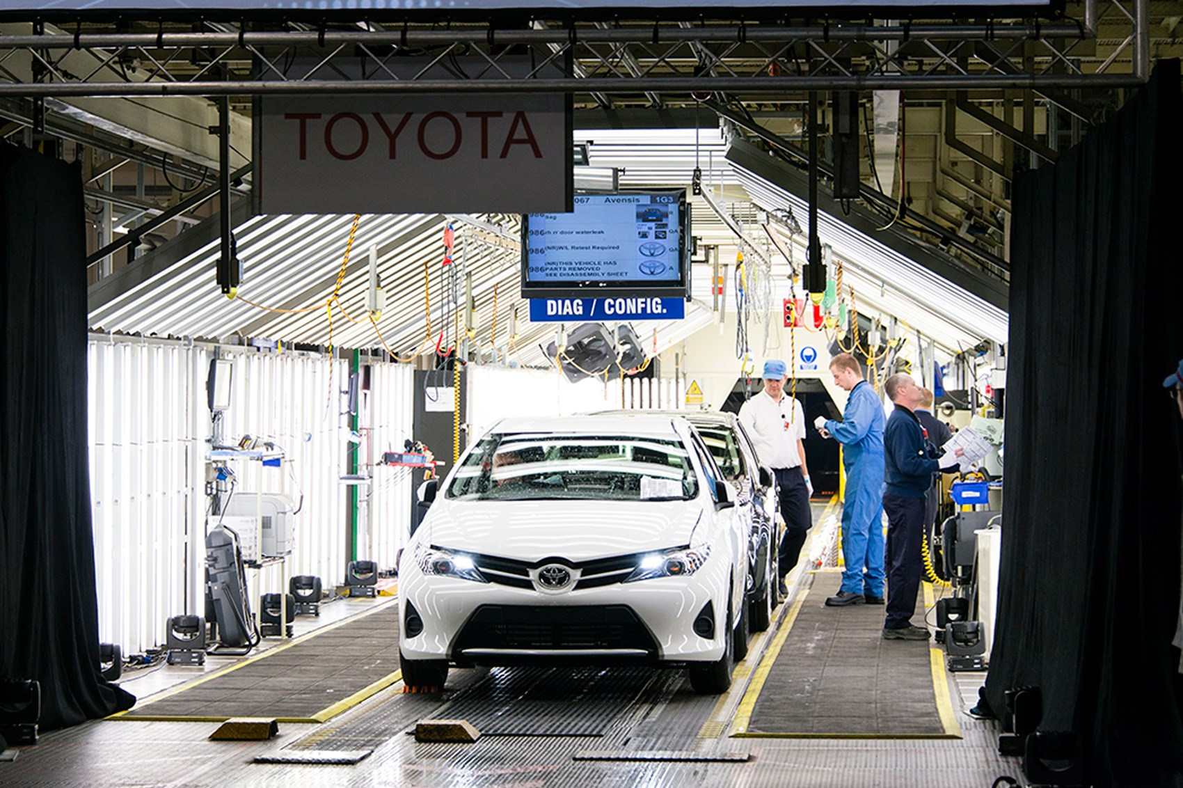 Toyota To Invest 163 240m In Its Uk Factory By Car Magazine