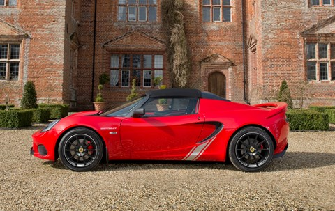 Lotus Elise Sprint is one hellishly lightweight sports auto