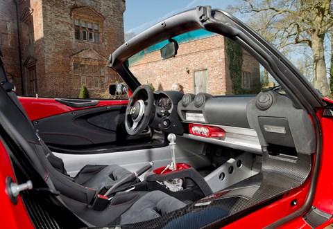 Lotus Elise Sprint cabin