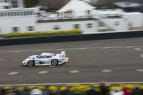 Flaming pipes: GT1 racers thrilled as usual