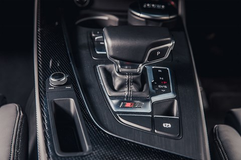 Audi S5: settings overload