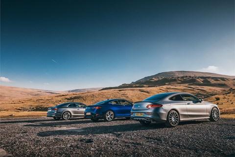 Mercedes-AMG C43 vs Audi S5 vs Infiniti Q60