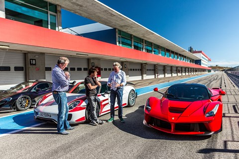Clarkson, Hammond and May on The Grand Tour