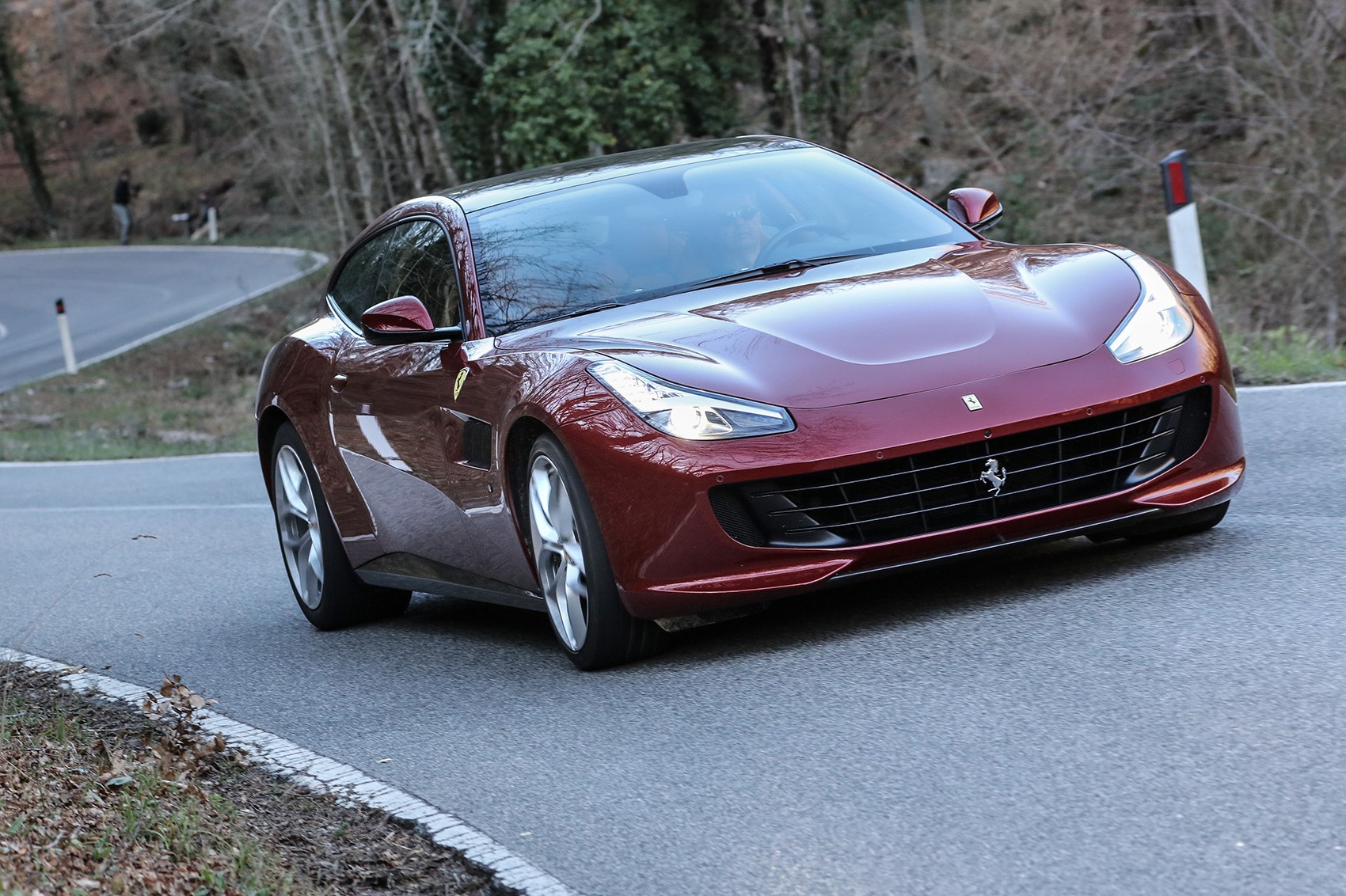 The New Ferrari GTC4 Lusso T Review By CAR Magazine ...