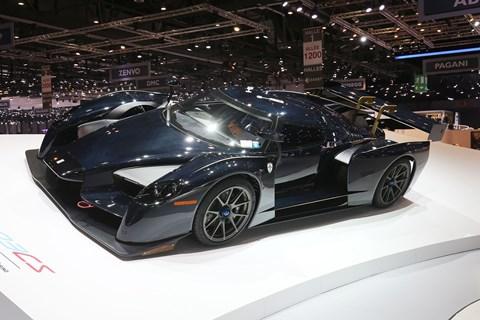 SCG 003 CS on display at the 2017 Geneva motor show