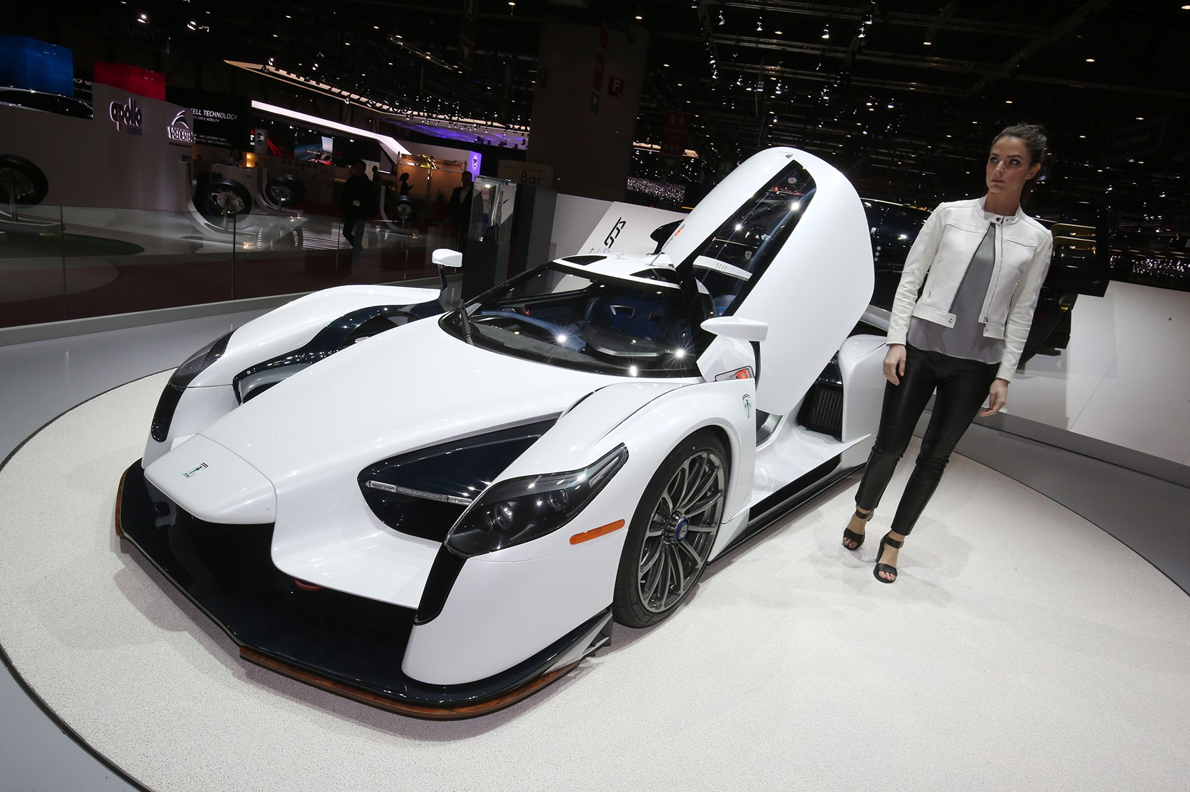 The Quickest Supercar Money Can Buy Up Close With The