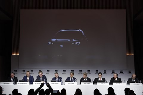 The third Seat SUV: a new flagship coming in 2018