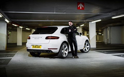CAR's Porsche Macan and keeper Ben Oliver