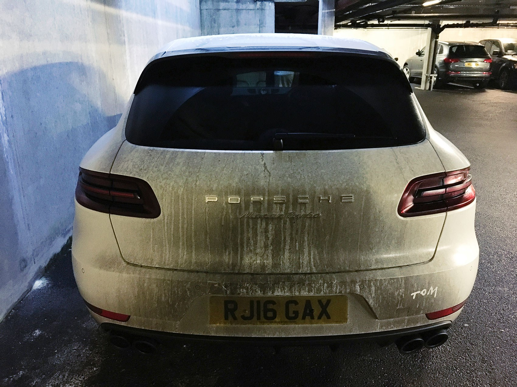 Porsche Macan Turbo Also Available In White