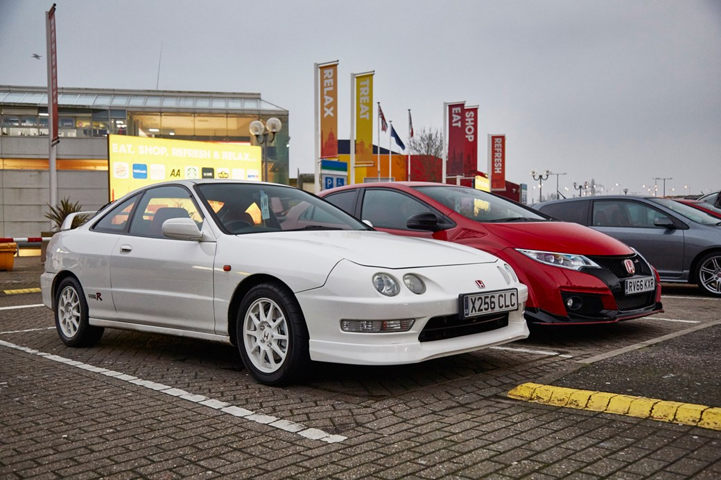 Driving The Classics Honda S Type R Icons Car Magazine