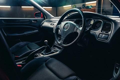 Honda Accord Type R interior
