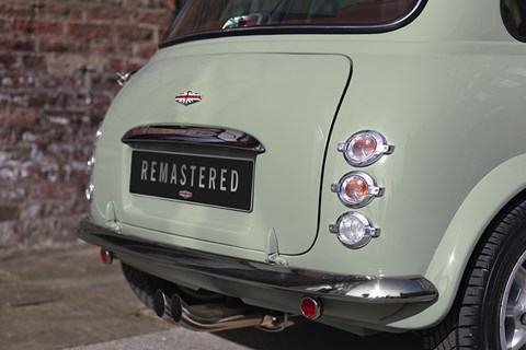 Mini Remastered rear detail