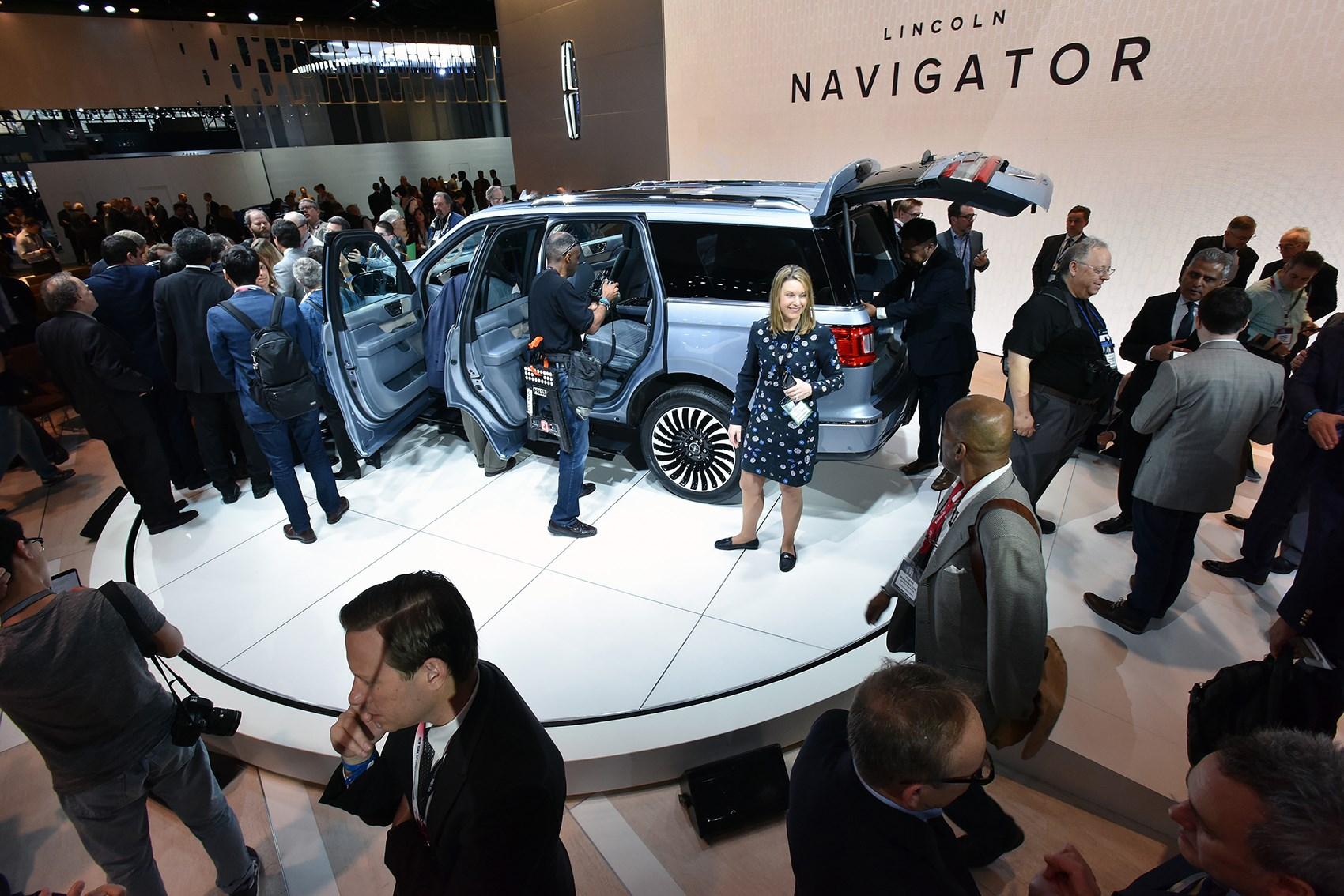 Lincoln Navigator At The 2017 New York Auto Show