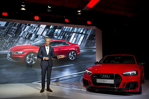 The new Audi RS5 makes its US debut in New York (Getty)