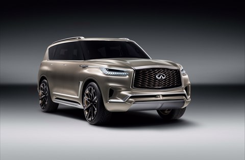 Infiniti QX80 Monograph: another NYIAS debut