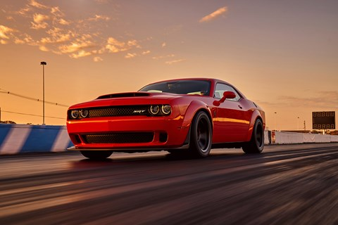 Dodge Demon unveiled at 2017 NYIAS