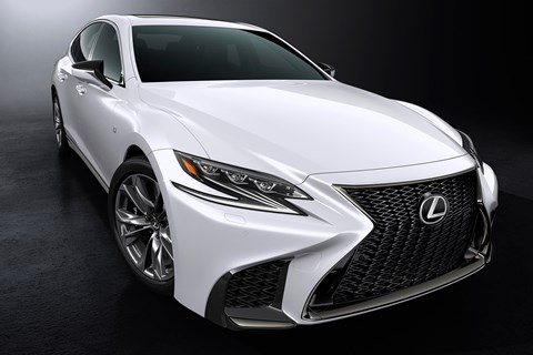 The Lexus LS 500 F Sport
