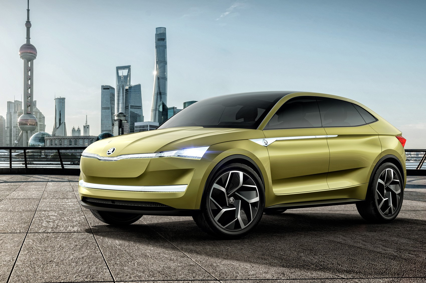 Skoda Vision E >> Skoda Vision E It S The Czechs First Electric Car Car Magazine