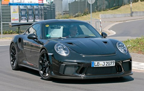 Porsche GT3 RS: the new 2018 facelifted car