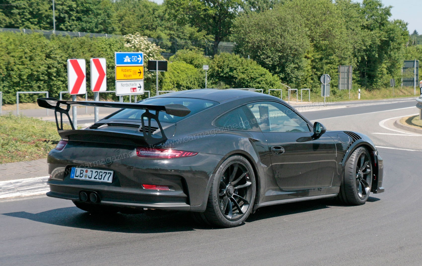 2018 porsche rs. simple 2018 the new 2018 porsche 911 gt3 rs spyshots  intended porsche rs