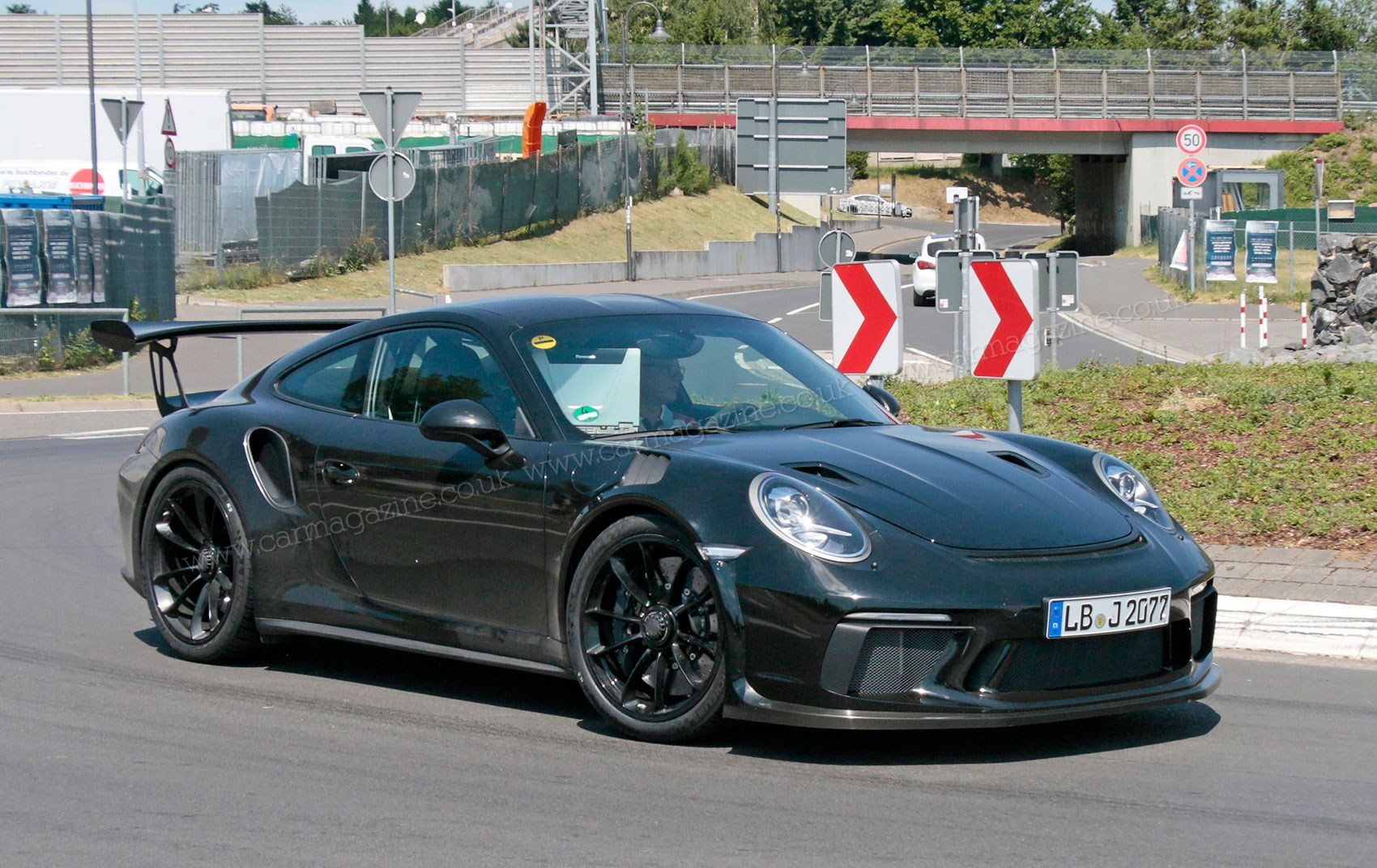 Porsche 911 GT3 RS facelift for 2018: more power, more pedals by CAR Magazine
