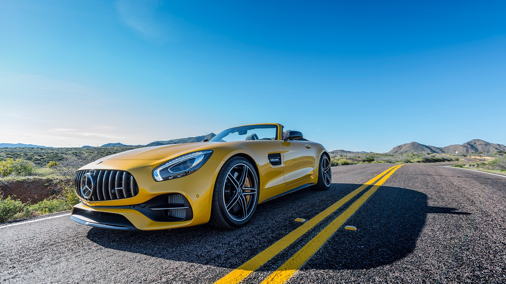 mercedes amg gt c roadster 2017 review car magazine. Black Bedroom Furniture Sets. Home Design Ideas