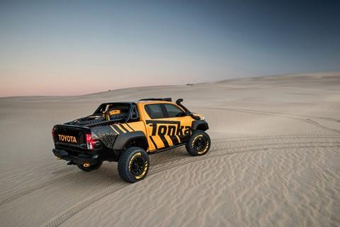 One of a kind: the Toyota Tonka Hilux