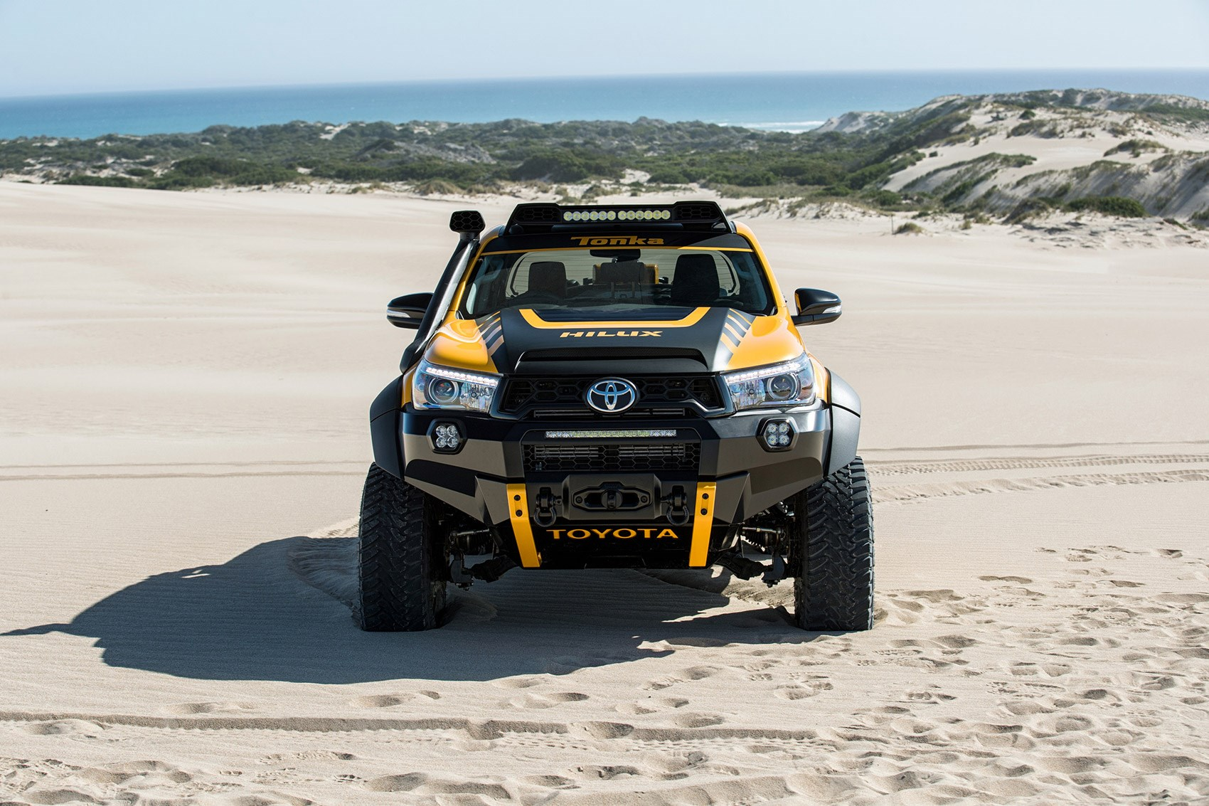 The Tonka Toyota One Off Toy Hilux Built Car Magazine
