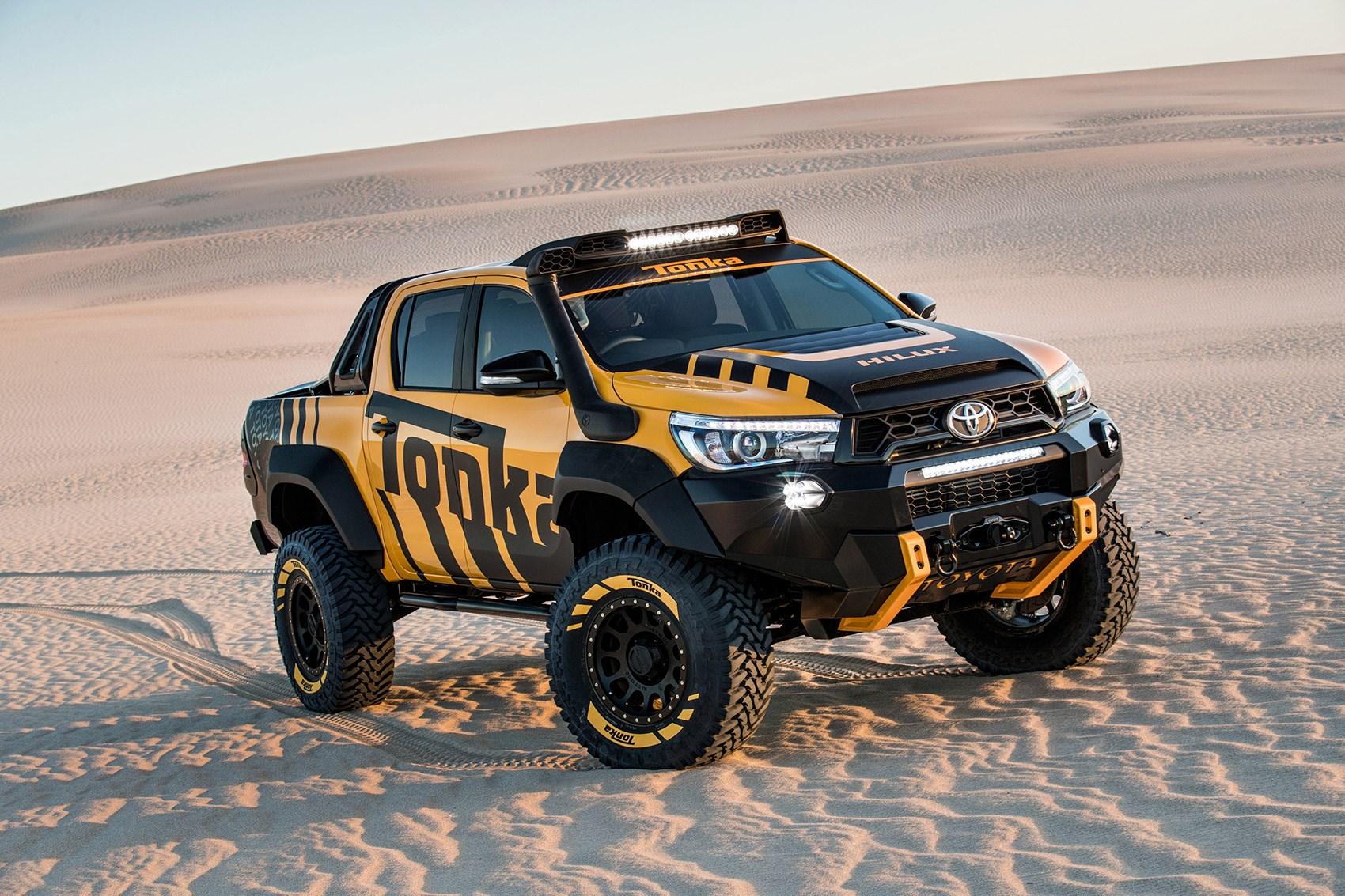 ... Toyota Hilux Tonka Concept Itu0027s A One Off Made In Australia ...