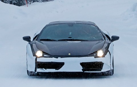 Ferrari 488 GTB due to be upgraded in 2019