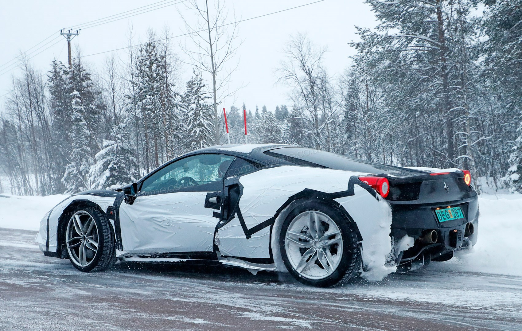 News And Spy Photos Of 2019 S New Ferrari 588 Modificato