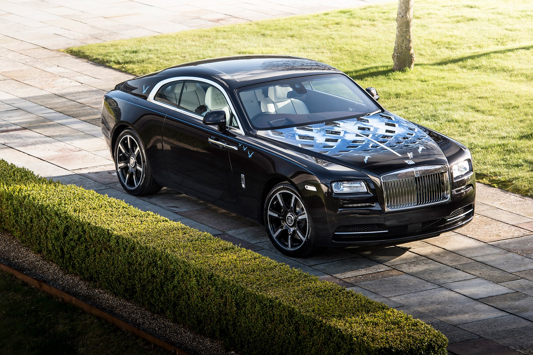Rock n roller rolls royce wraith inspired by british - Keith moon rolls royce swimming pool ...