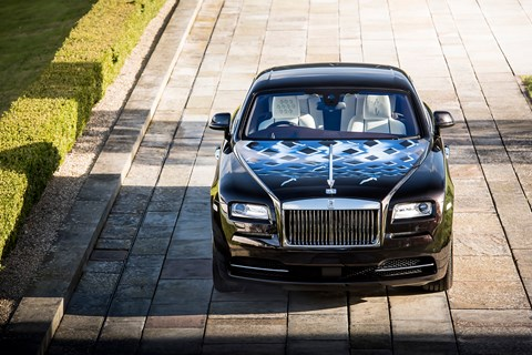 Rolls-Royce Wraith Inspired by British Music Roger Daltrey 'Tommy' car